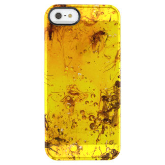 Insects in amber clear iPhone SE/5/5s case