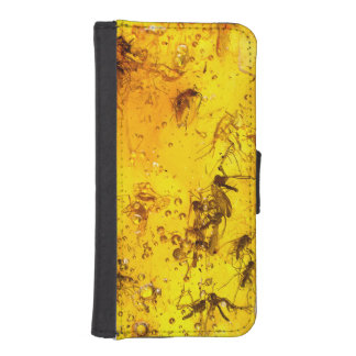 Insects in amber  | iPhone SE/5/5s wallet case