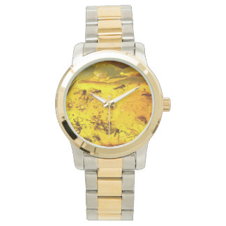 Insects in amber watch