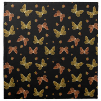 Insects Motif Pattern Napkin