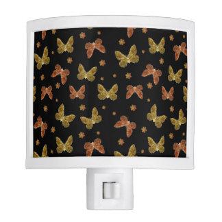 Insects Motif Pattern Night Light