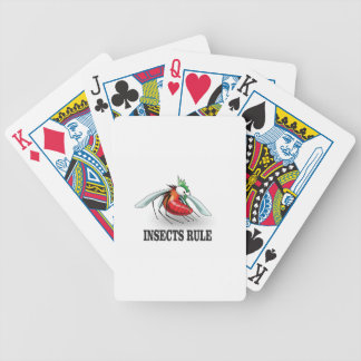 insects rule poker deck