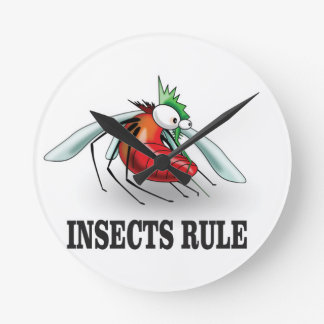 insects rule wallclocks