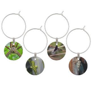 Insects Wine Charm