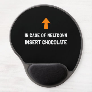 Insert Chocolate Gel Mouse Pad