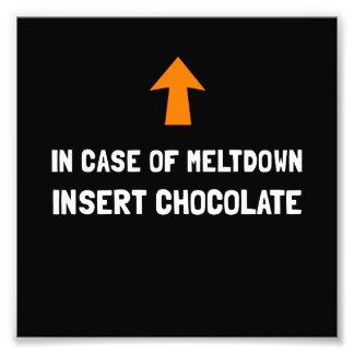 Insert Chocolate Photo Print