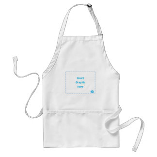 Insert Graphic Here Apron