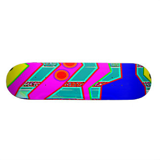 Insert in Low Skateboard Deck