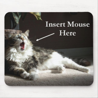 Insert Mouse Here Mousepad