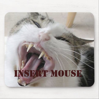 Insert Mouse - Pad Mouse Pad