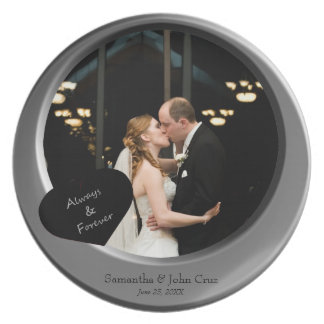 Insert Photo, Beveled Look Metallic Frame Plate