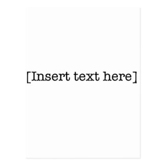 insert text here post cards