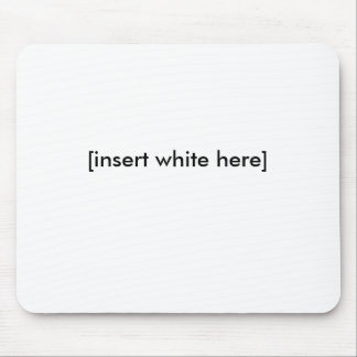 [insert white here] mouse pad