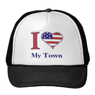 INSERT YOUR TOWN NAME! MESH HATS