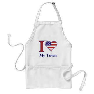 INSERT YOUR TOWN NAME! STANDARD APRON