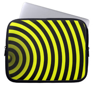 inside a bee laptop sleeve