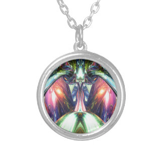 Inside A Creative Machine Silver Plated Necklace