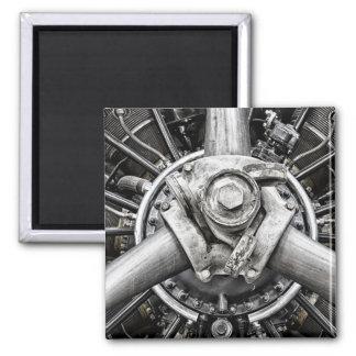 Inside a propeller magnet