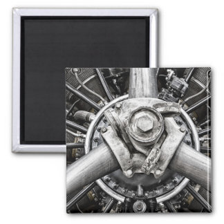 Inside a propeller square magnet