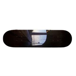 inside a Tunnel Custom Skate Board