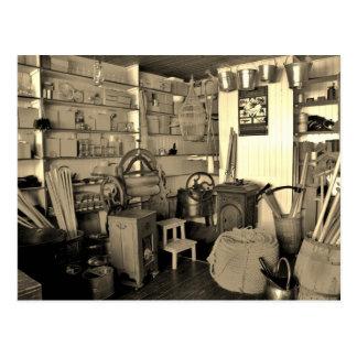 Inside an Old Hardware Store (Irish) Postcard