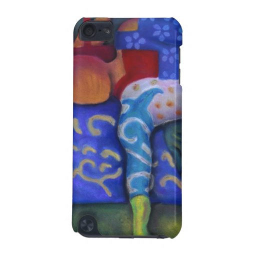 Inside and Out – Azure and Crimson Passage iPod Touch 5G Cover