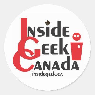 Inside Geek Canada Stickers