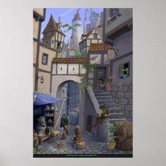 inside goblin city print