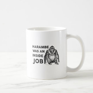 Inside Job Harambe Coffee Mug