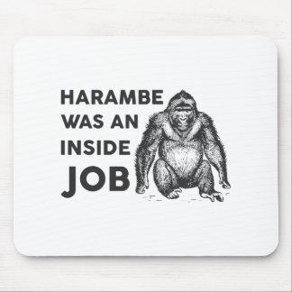 Inside Job Harambe Mouse Pad