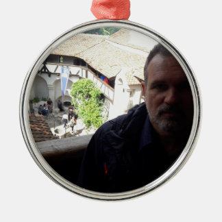 Inside look at Bran Castle. Dracula? Metal Ornament