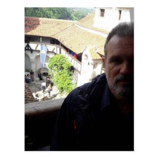 Inside look at Bran Castle. Dracula? Postcard