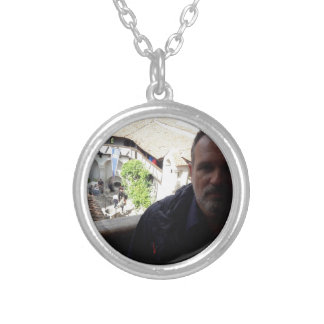 Inside look at Bran Castle. Dracula? Silver Plated Necklace