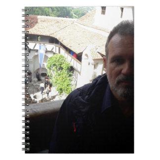 Inside look at Bran Castle. Dracula? Spiral Notebook
