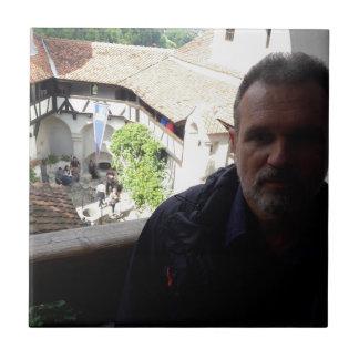 Inside look at Bran Castle. Dracula? Tile