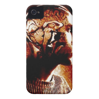Inside my Head, Showing Brain Activity iPhone 4 Case-Mate Case