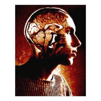 Inside my Head, Showing Brain Activity Letterhead