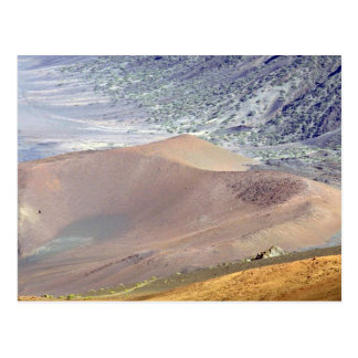 Inside of Haleakala Crater, Maui, Hawaii, U.S.A. Postcard
