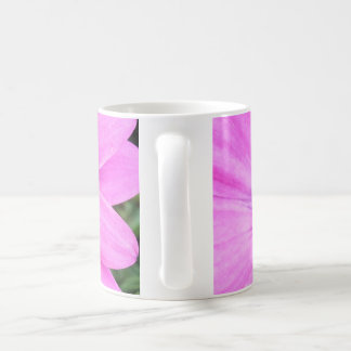 Inside of Pink Purple Gerbera Daisy Flower Nature Classic White Coffee Mug