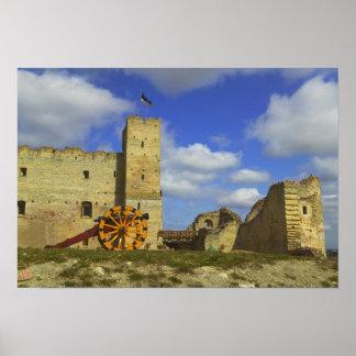 Inside Rakvere Castle, Rakvere, Estonia Poster