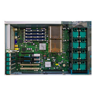 inside server computer print