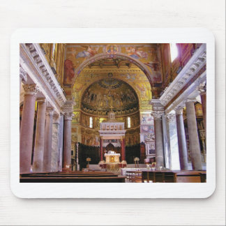 Inside the church yeah mouse pad