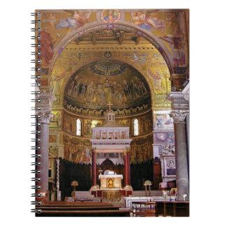 Inside the church yeah notebooks