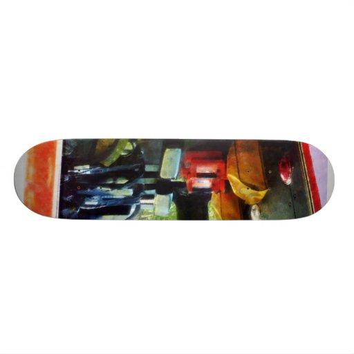 Inside the Fire Truck Skateboards