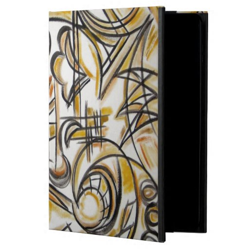 Inside The Labyrinth - Abstract Art Handpainted iPad Air Cover