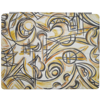 Inside The Labyrinth - Modern Art Handpainted iPad Cover