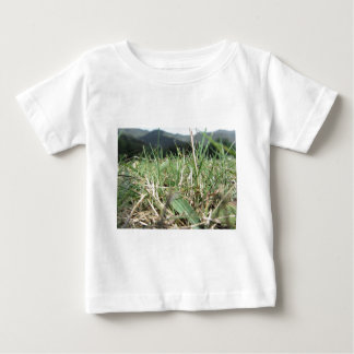 Inside, the lush green grass sprouts everywhere baby T-Shirt