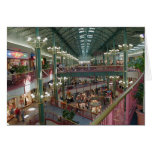 Inside The Mall Of America Minisota Store Crowd Greeting Cards