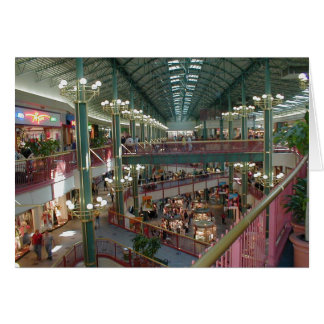 Inside The Mall Of America Minisota Store Crowd Card