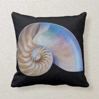 Inside The Nautilus Throw Pillow